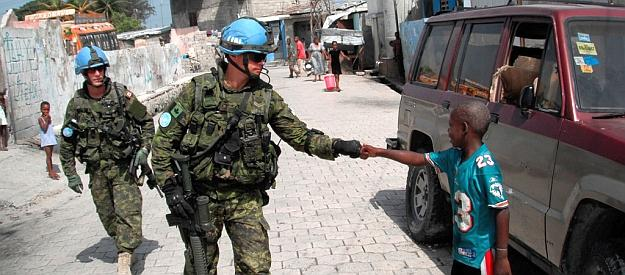 Canadian contributions to United Nations peace support operations