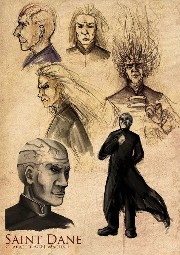 The villain of the series, Saint Dane.