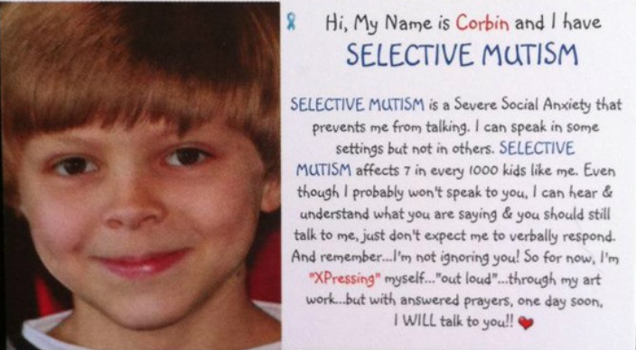 Did you know that October Was Selective Mutism Awareness Month - And Here's Why You Should Care