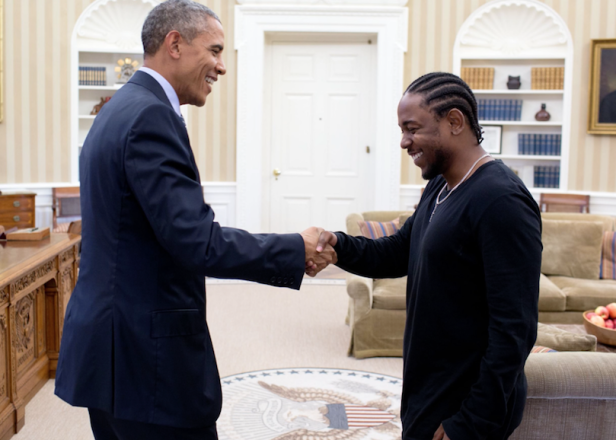 Rap made it to the Oval Office?