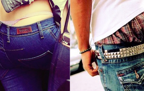 The Sagging Pants Trend: Gender Swapped