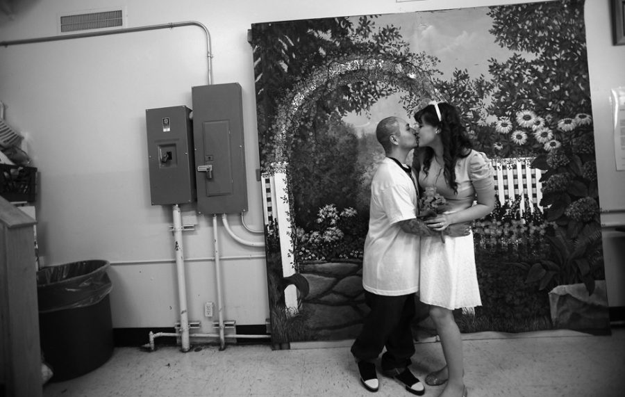 VACAVILLE, CA- OCTOBER 21 2011: The X corridor, also known as the inmate hospice, inside the California Medical Center in Vacaville. (Brian van der Brug/Los Angeles Times)