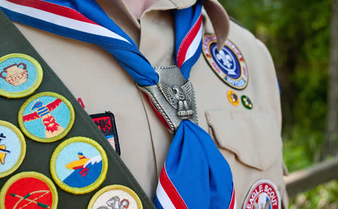 Scouts--just cookie pushers?  My experiences as a German Scout
