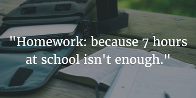 Homework Is Hell for the Teenage Brain
