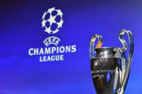 NYON, SWITZERLAND - July 22: A general view of the trophy ahead of the UEFA Champions League 2019/20 Third Qualifying Round draw at the UEFA headquarters, The House of European Football on July 22, 2019 in Nyon, Switzerland. (Photo by Harold Cunningham - UEFA/UEFA via Getty Images)
