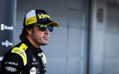 Alonso suffers broken jaw in cycling accident