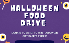 Community at KSS: The Halloween Food Drive